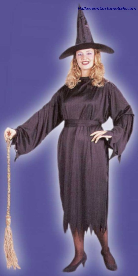 WITCHY WITCH COSTUME, PLUS-SIZE
