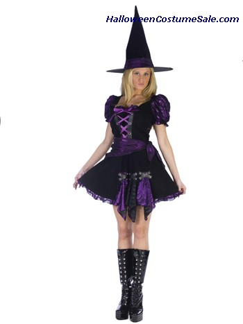WITCH PUNK ADULT COSTUME