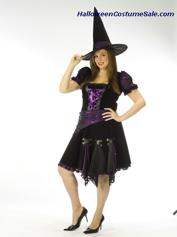 WITCH PUNK ADULT COSTUME - PLUS SIZE