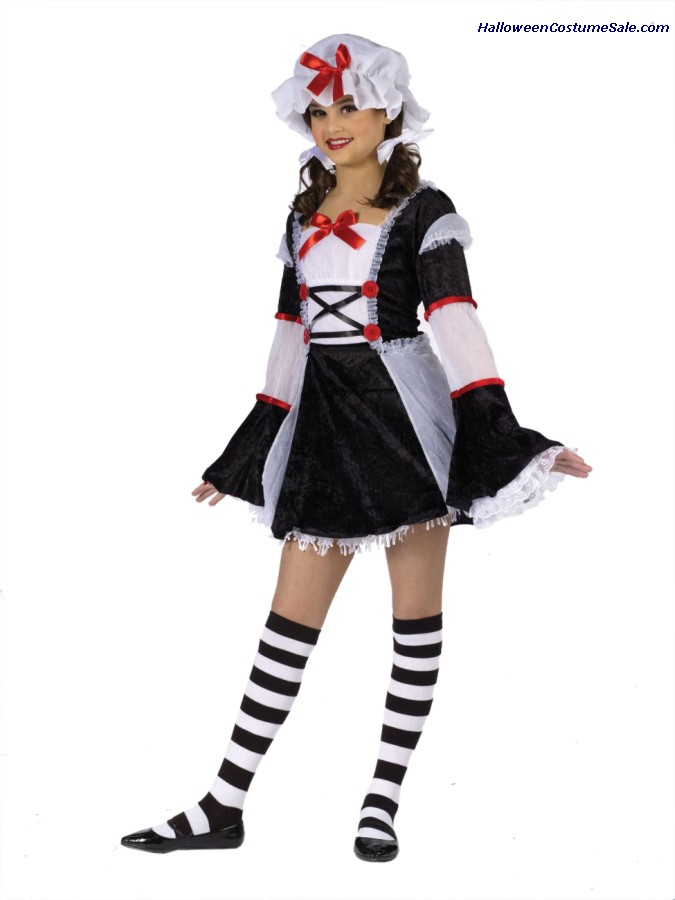 RAG DARLIN CHILD/TEEN COSTUME