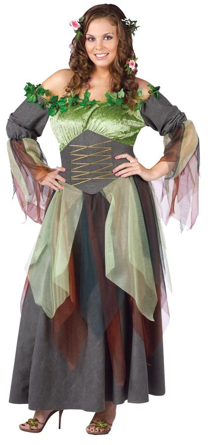 MOTHER NATURE PLUS SIZE ADULT COSTUME