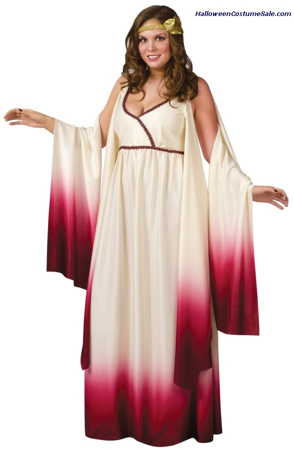 VENUS GODDESS OF LOVE ADULT COSTUME - PLUS SIZE