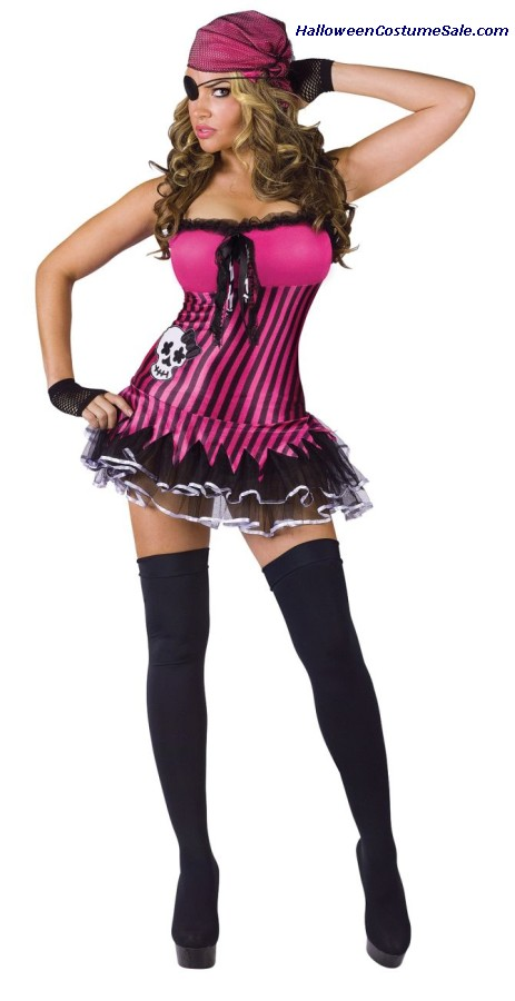 Rockin Skull Pirate Adult Costume