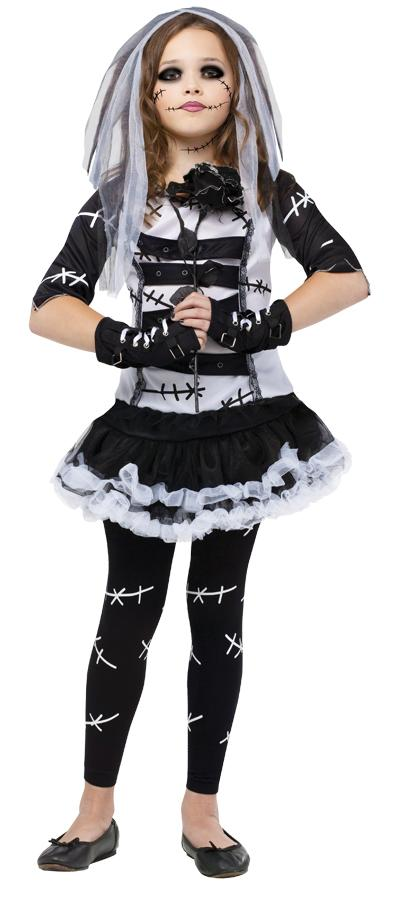 MONSTER BRIDE CHILD COSTUME