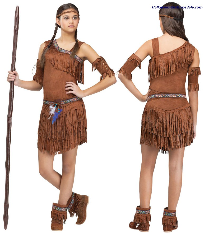 POW WOW TEEN COSTUME