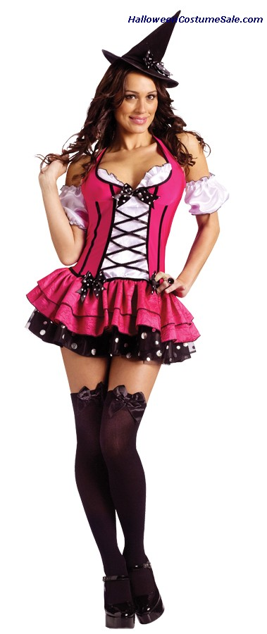 SUGAR N SPICE WITCH  COSTUME