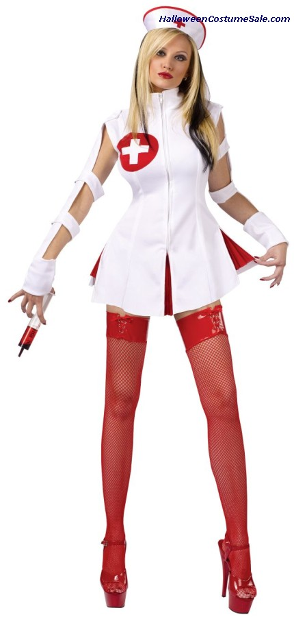 NURSE WICKED ADULT COSTUME - HOT! HOT!