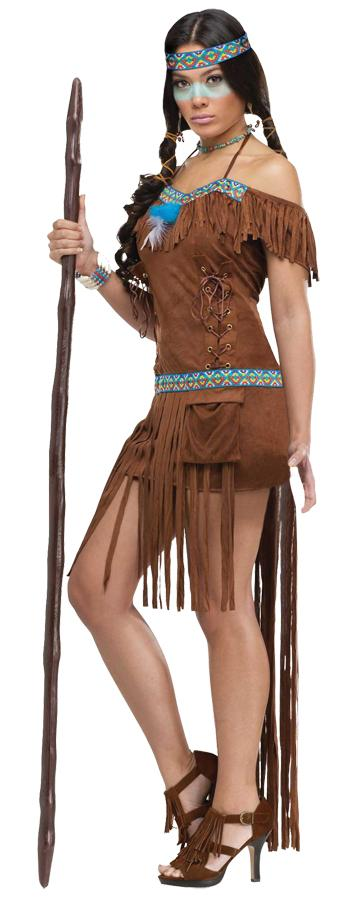 MEDICINE WOMAN ADULT COSTUME