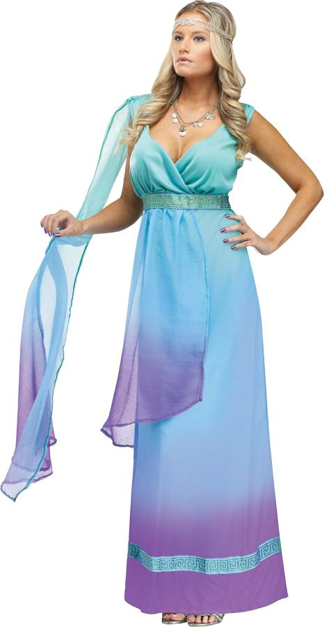 SEA QUEEN ADULT COSTUME