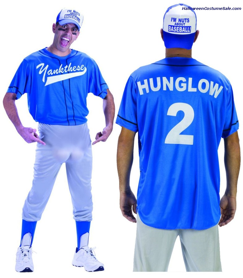 BASEBALL NUT ADULT COSTUME