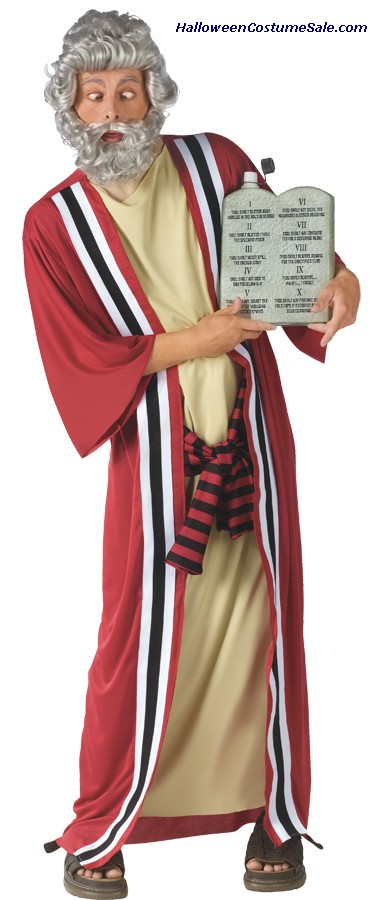 MOSES & 10 PARTY COMMANDMENTS ADULT COSTUME PLUS