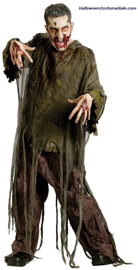 DARK ZOMBIE ADULT COSTUME
