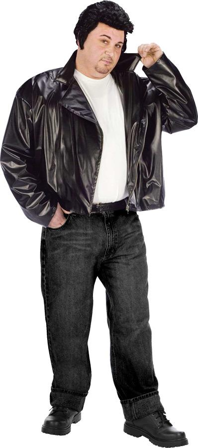 T-BIRD GANG JACKET PLUS SIZE ADULT COSTUME