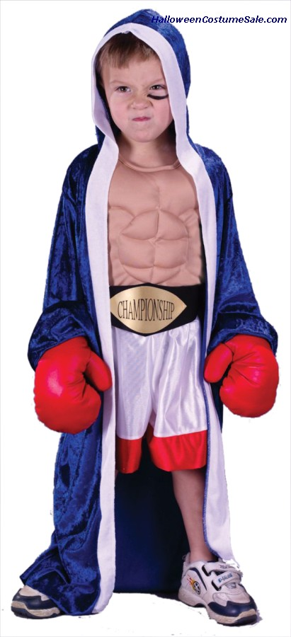 CHAMPION BOXER TODDLER COSTUME