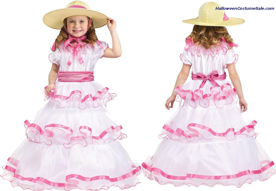 SWEET SOUTHERN BELL TODDLER COSTUME
