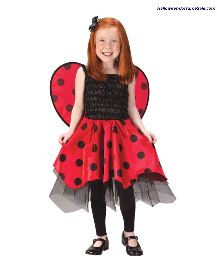 LADY BUG CHILD COSTUME