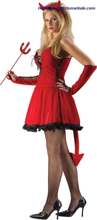 SEXY DEVIL ADULT COSTUME