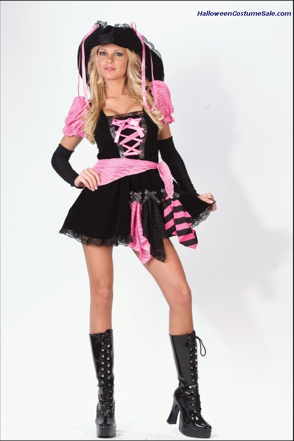 PIRATE PUNK ADULT COSTUME