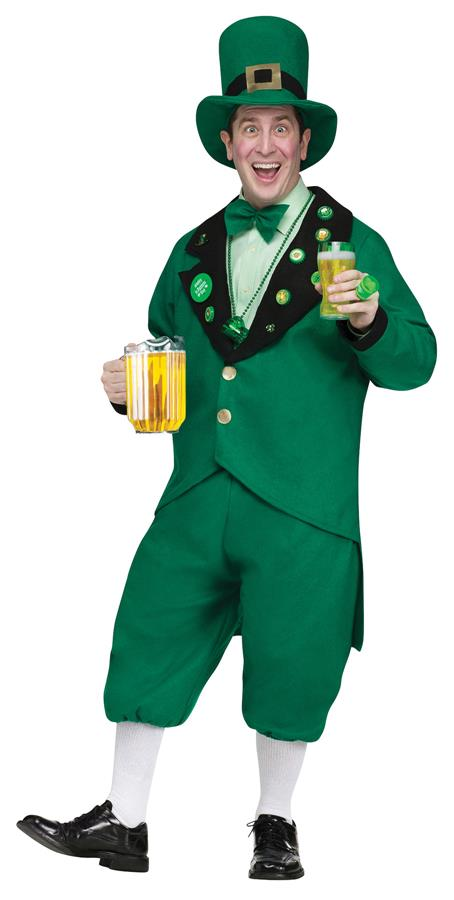 ST PAT PUB LEPRECHAUN ADULT COSTUME