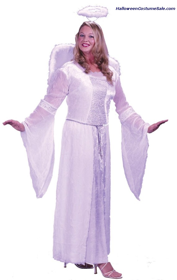 ANGEL ADULT COSTUME - PLUS SIZE