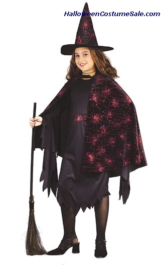 WITCH GLITTER CHIP COSTUME CHILD
