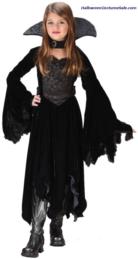 VELVET VAMP CHILD COSTUME