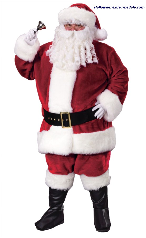 SANTA PLUSH CRIMSON PLUS SIZE