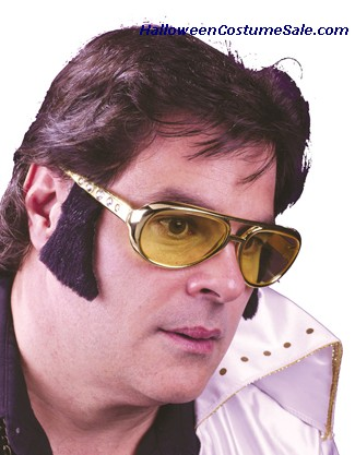 ROCKER GLASSES WITH SIDEBURNS