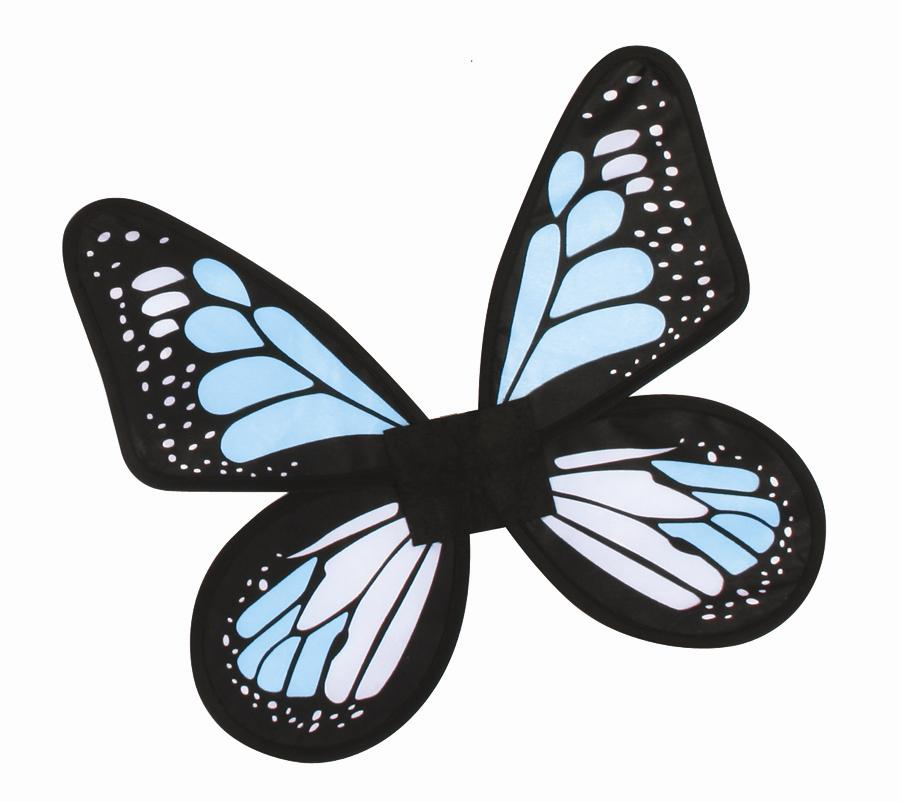 WINGS BUTTERFLY SATIN CHILD SIZE