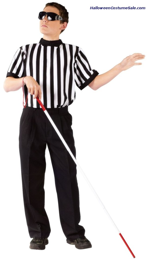 BLIND REFEREE CHILD COSTUME