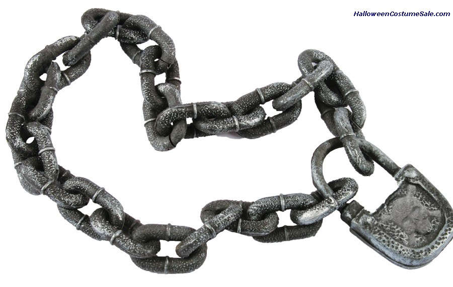 PADLOCK AND CHAIN ACCESSORY