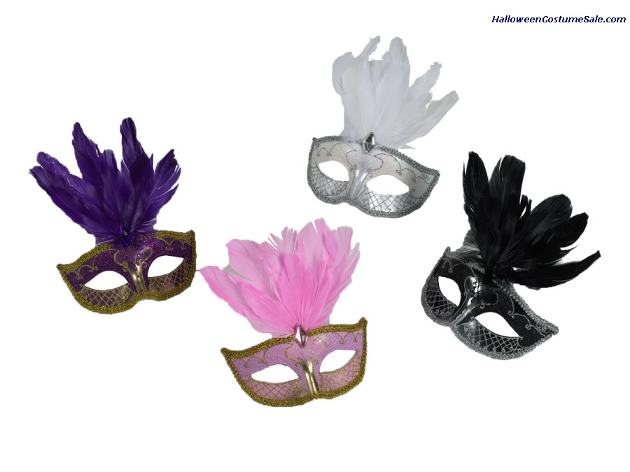 CARNIVAL MASK ACCENT