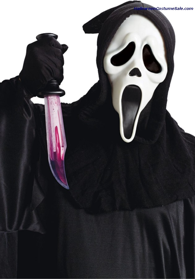 GHOST FACE DELUXE MASK KNIFE SET