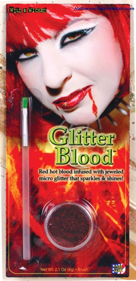 Blood Gel Glitter