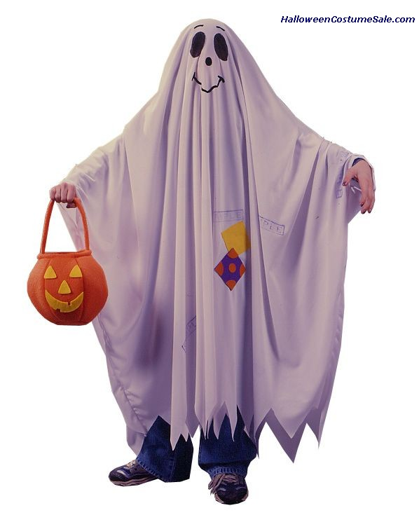 FRIENDLY GHOST, CHILD COSTUME