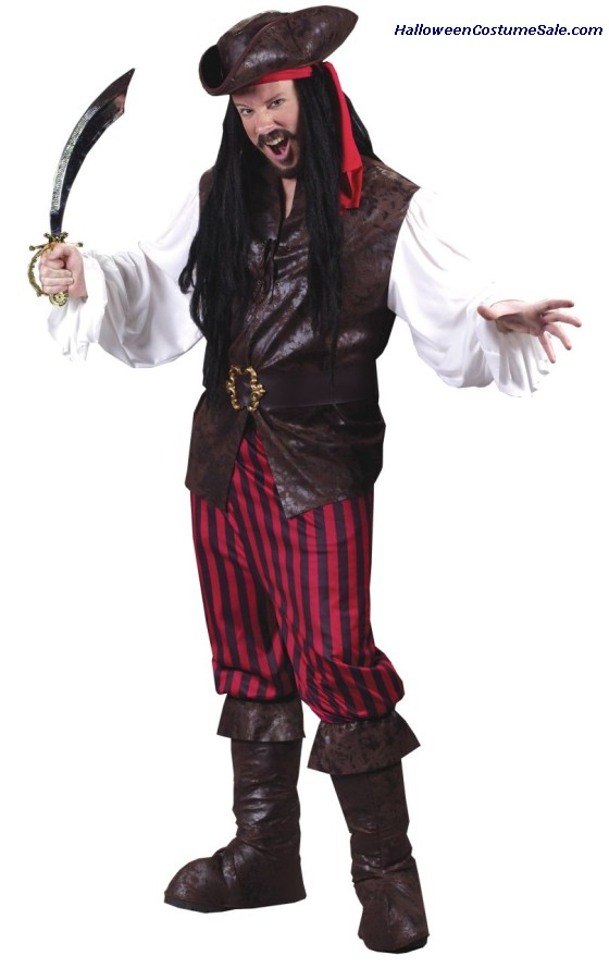 HIGH SEAS MALE BUCCANEER ADUL COSTUME
