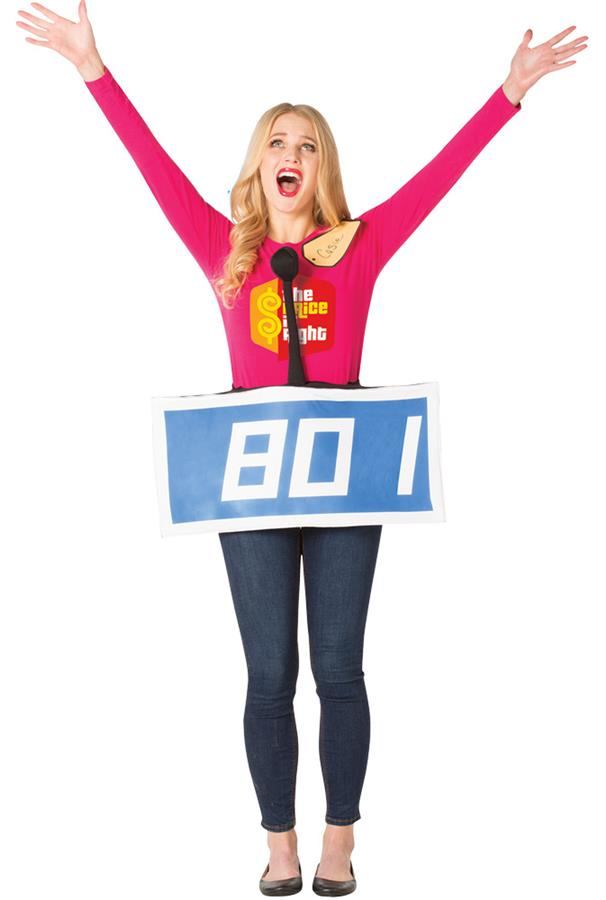 PRICE IS RIGHT ROW ADULT COSTUME