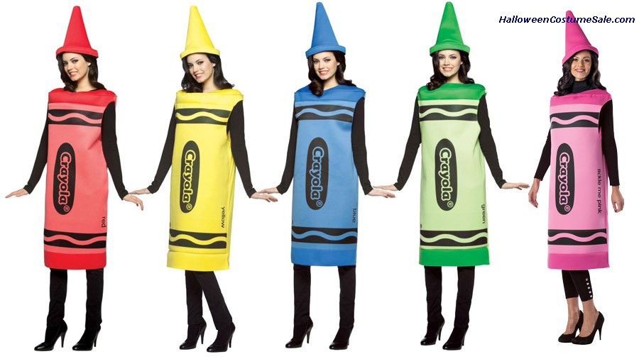 Crayola Crayon Adult Female Costume