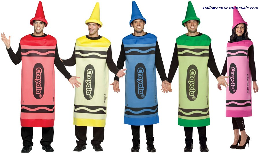 Crayola Crayon Adult Male Costume