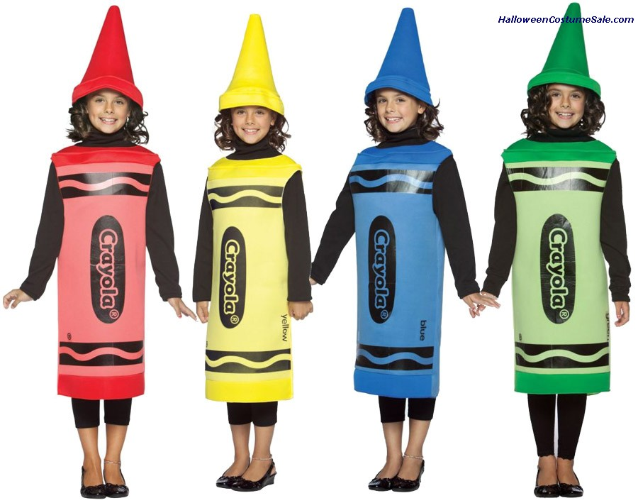 CRAYOLA CHILD COSTUME