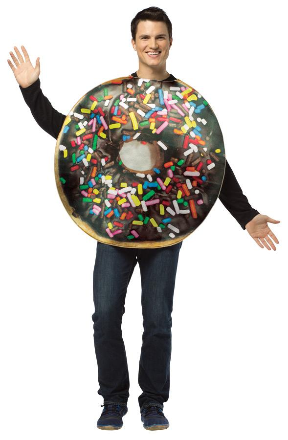 GET REAL DOUGHNUT ADULT COSTUME