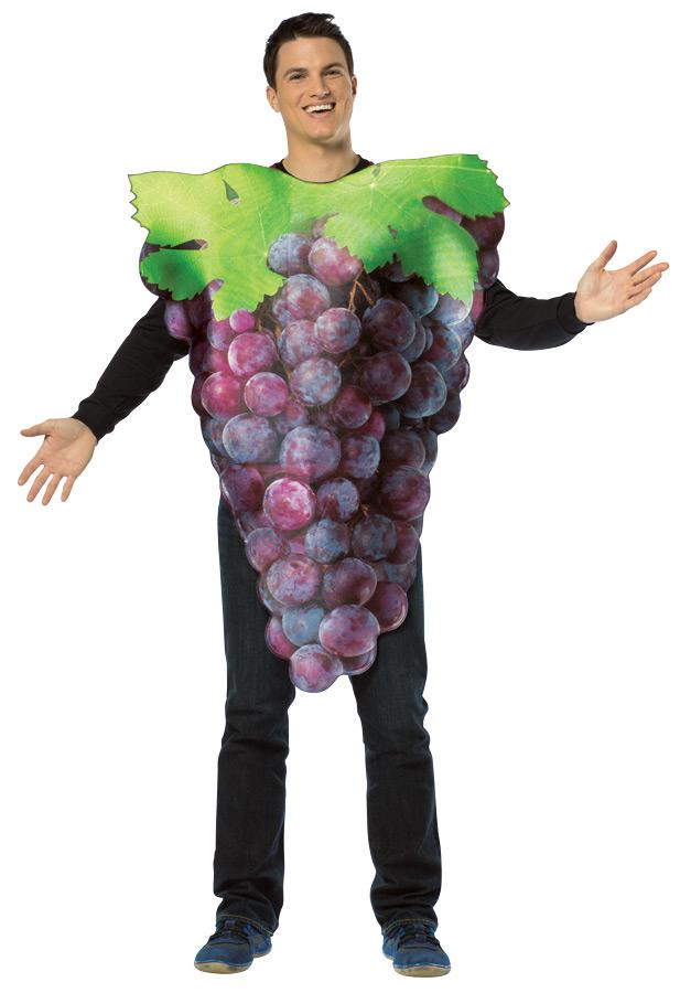 GET REAL BUNCH OF GRAPE COSTUME
