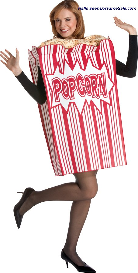 MOVIE NIGHT POPCORN ADULT COSTUME