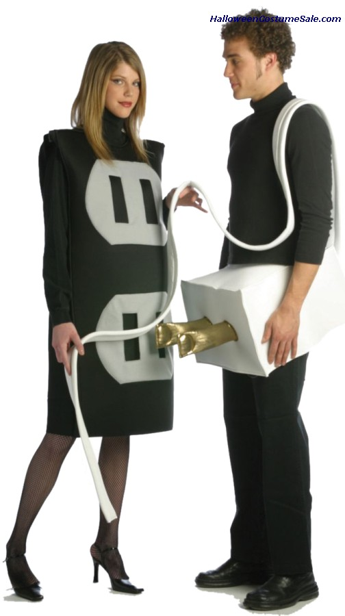 PLUG & SOCKET SET PLUS SIZE COSTUME