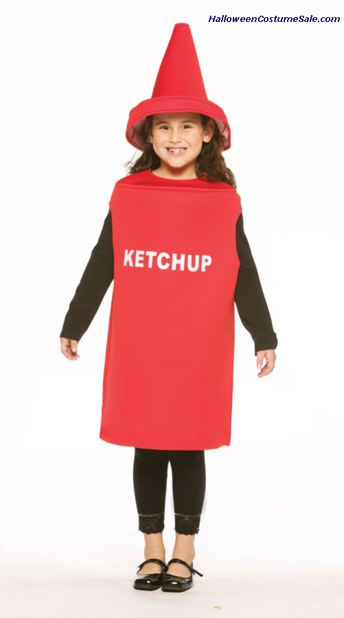 Ketchup Child Costume