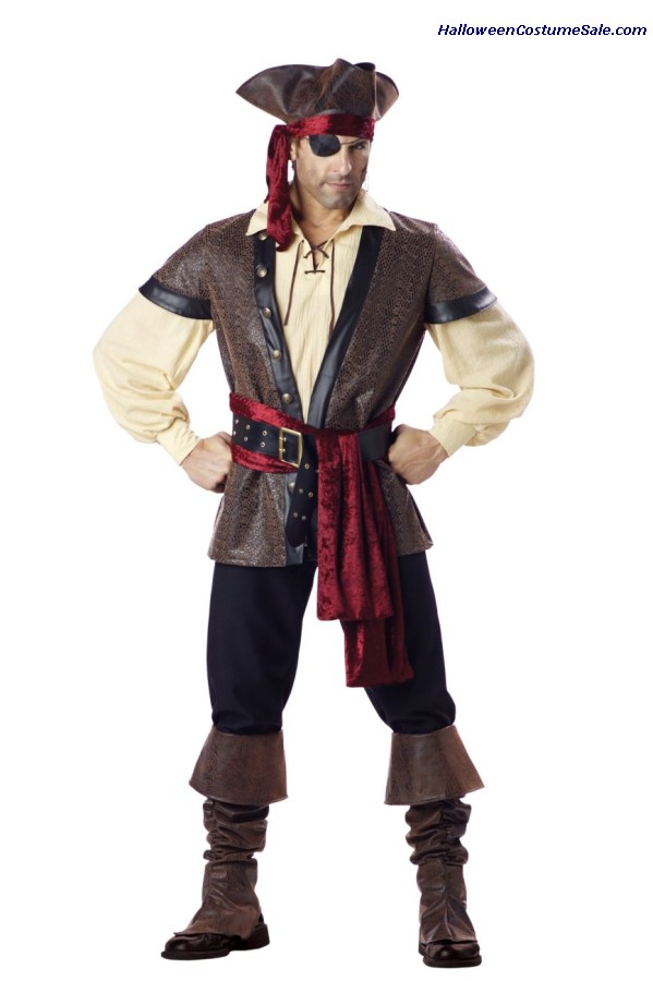 Rustic Pirate Adult Costume
