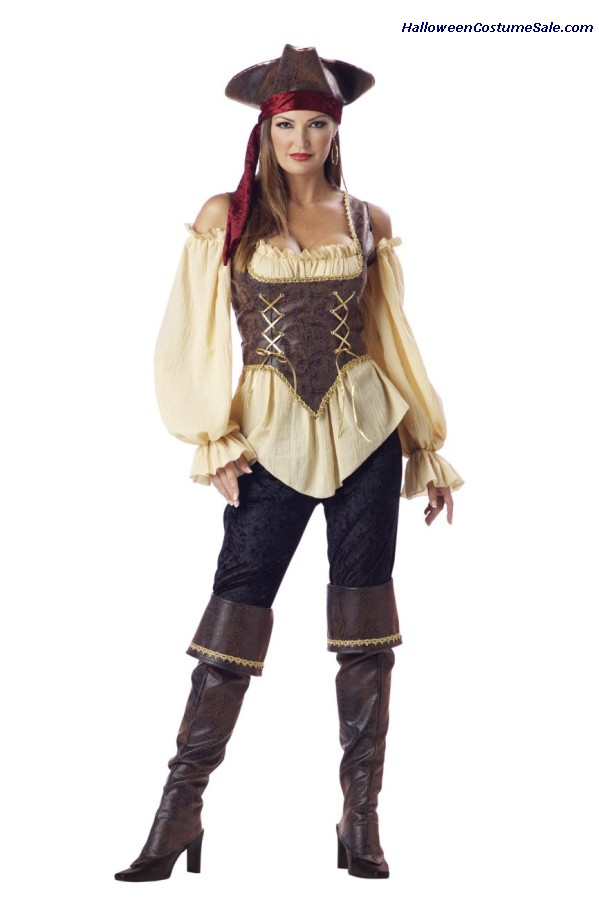 Rustic Pirate Lady Adult Costume