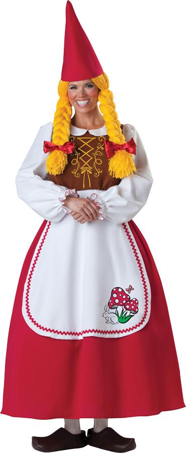 MRS. GARDEN GNOME ADULT COSTUME
