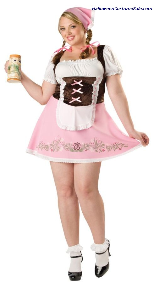 FETCHING FRAULEIN PLUS SIZE COSTUME