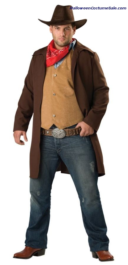 RAWHIDE RENEGADE PLUS SIZE COSTUME